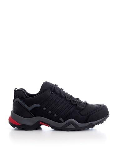 Tonny Black Siyah Füme Unısex Trekkıng Ayakkabı Tb241  Siyah